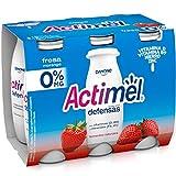 Actimel Fresa 0% MG 6x100 g