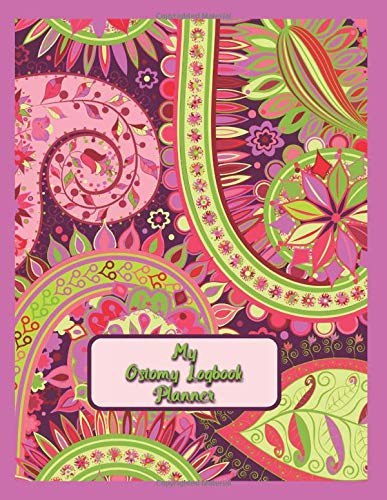 My Ostomy Logbook Planner: 12 Month Prompted Planner Logbook Journal To...