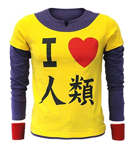 CoolChange Camiseta de Sora No Game No Life con Dos muñequeras, XL