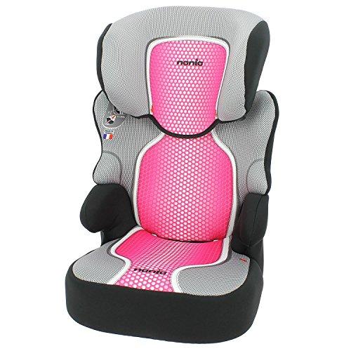Nania Befix .Seggiolino Auto, Gruppo 2/3 (15-36 kg), per Bambini da 3 a 12 Anni.4 colori. 4 stelle test ADAC/TCS