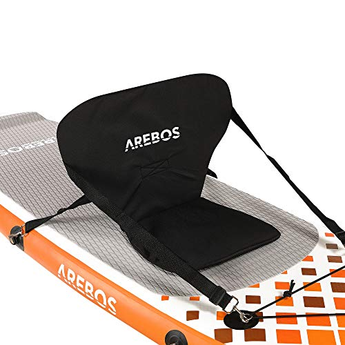 Arebos Asiento de kayak para SUP Board | Stand Up Paddle | Surfboard Top Comfort