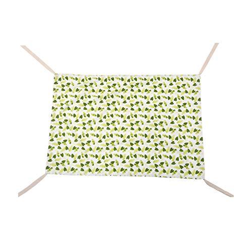 xiahe Hamaca familiar extraíble y portátil de algodón que hace que el bebé sea más cómodo y cálido, bueno para la piel del bebé (30 x 27 x 2 cm).