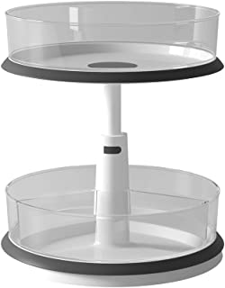 WINDASER Spice Rack Organizer and Storage for Kitchen Pantry Cabinet - Lazy Susan Turntable - 360 Degree Rotating - Height...