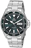 Orient Men's Kamasu Japanese Automatic Diving Watch with Stainless-Steel Strap, Silver, 22 (Model: RA-AA0004E19A)