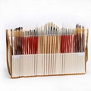 38 Pcs Paint Brushes Art Set For Acrylic Oil Watercolor And Gouache Painting