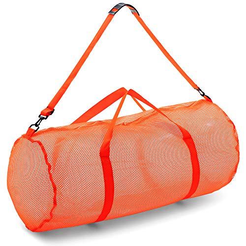 Champion Sporttasche Mesh Duffle Bag, Unisex-Erwachsene, Orange, 15