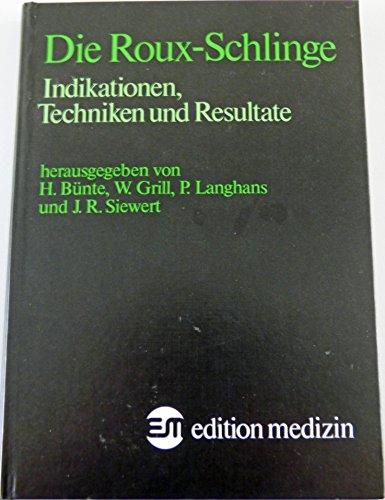 Die Roux Schlinge: Indikation, Techniken und Resultate