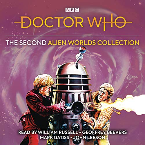 The Second Alien Worlds Collection audiobook cover art