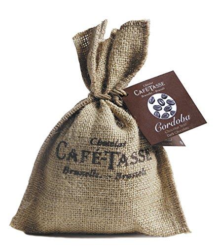 Café Tasse Schokolierte Kaffeebohnen