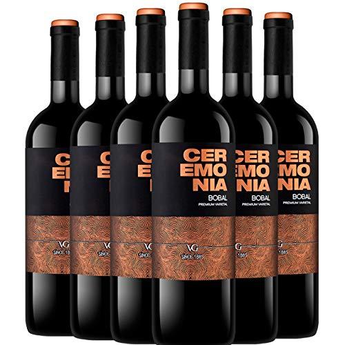Ceremonia Premium Bobal Vino Tinto Do Utiel Requena 6 Botellas - 750 ml