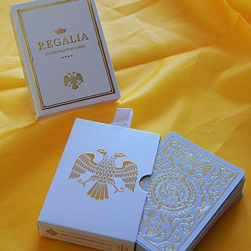 SOLOMAGIA Mazzo di Carte Regalia White Playing Cards by Shin LIM