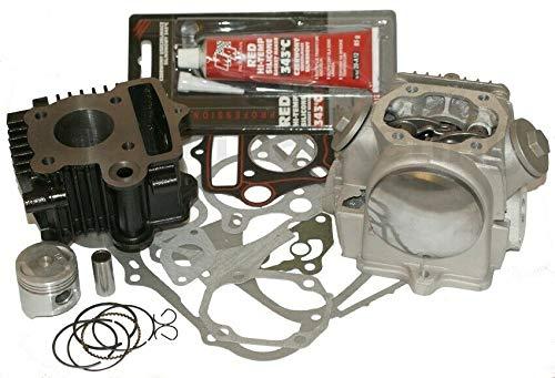 UNTIMERO 50 Zylinder KIT KOLBEN DICHTUNGEN Kopf Set für Honda SS 50 KYMCO K-Pipe KPIPE 4T Zylinderkit Zylinderkit