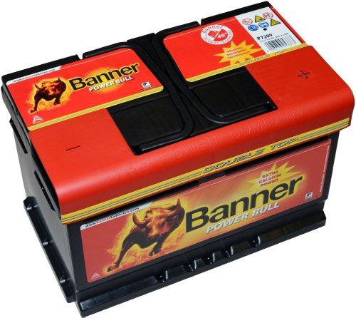 Banner Power Bull Batterie 12V–72Ah–660A EN –P7209