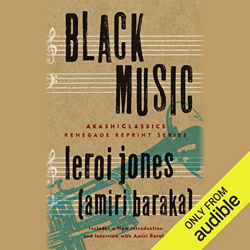 Black Music audiobook cover art