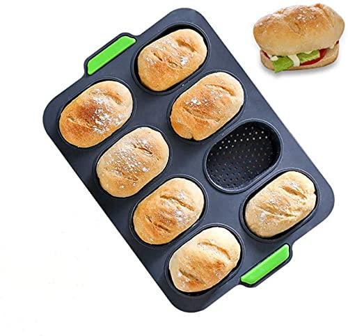 8 Schlitze Französisch Brotform Silikon...