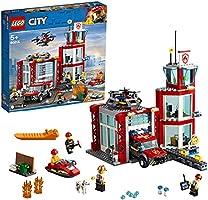 Lego 6251396 Lego City Lego City Brandweerkazerne - 60215, Multicolor