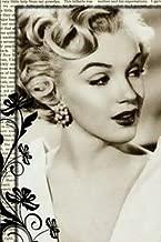 Marilyn Monroe Journal II: Marilyn Monroe Diet Dot Grid Journal