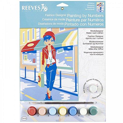 Reeves - 85521 - Peinture Par Numéros - Fash Design - Shopping