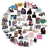 WYZN 51 unids Kiwi Girl Pegatina Personalidad Creativa Diy Niños Scrapbook Decoración Notebook Ordenador Impermeable...