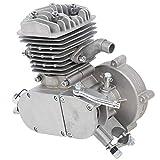 Alomejor Motor de Bicicleta Motor de Bicicleta Pieza de Mano Motor de Gasolina de 2 Tiempos 80CC Motor de Cilindro de Aire Motor