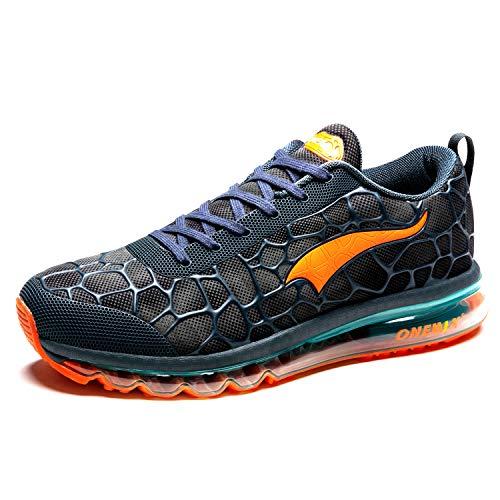 ONEMIX Laufschuhe Herren Leichte Sportschuhe Fitness straßenlaufschuhe Sneaker Gym Turnschuhe Freizeitschuhe Trainer Shoes 1096 45