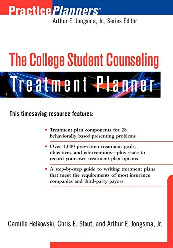 The College Student Counseling Treatment Planner