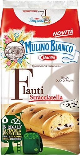 Mulino Bianco Kuchen mit stracciatella Flauti 8x 35 g kekse schoko riegel snack
