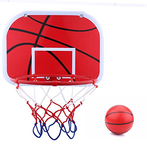Lazmin112 Tablero de Baloncesto para niños Colgante Mini aro de Baloncesto para Interior al Aire Libre Juego de niños Juguete Colgante aro de Baloncesto