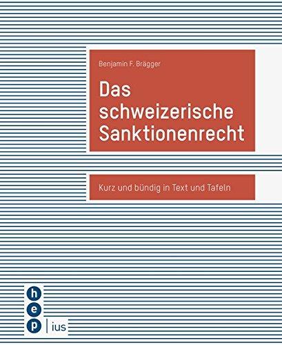 Das schweizerische Sanktionenrecht: Kurz und bündig in Text und Tafeln