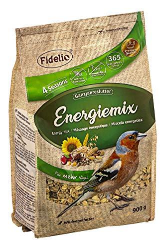 Fidelio Wildvogelfutter, Energiemix, schalenfrei, 900 g