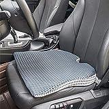 Car Wedge Seat Cushion for Car Driver Seat Office Chair Wheelchairs Tailbone Pain