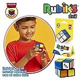 Rubik's Rubik´s 2x2 El Cubo Auténtico, Multicolor, 15.2 x 4.3 x 2.3 (Goliath 72103)