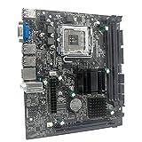 YLWL G41 M-ATX DDR3 con Placa Base Graphy de Doble Canal 8G USB 2.0 SATA integrada para Placa Base de computadora LGA775 / 771 CPU