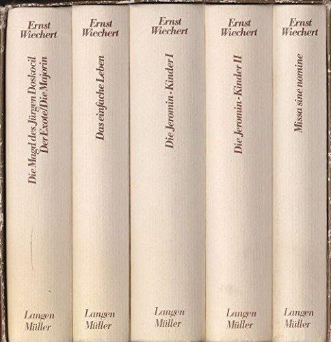 Gesammelte Werke. Die großen Romane