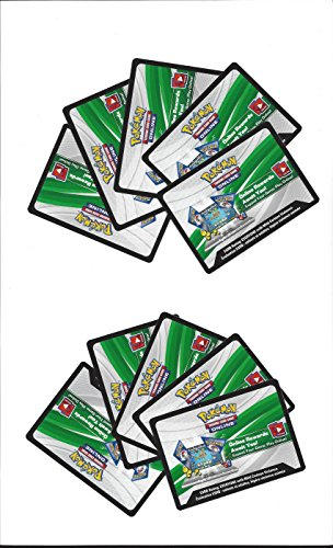 Pokemon Cards XY Roaring Skies 10 x Code Cards for Online Game play