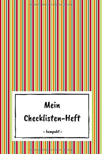 Mein Checklisten-Heft - kompakt: To Do Planer mit Checkbox zum Abhaken | Aufgabenplaner A6 | 100+ Seiten