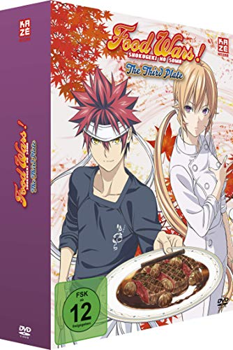 Food Wars! The Third Plate - Staffel 3 - Vol.1 - [DVD] mit Schuber