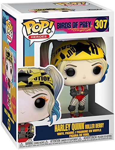 Birds of Prey Figura Vinilo Harley Quinn Roller Derby 307 Unisex ¡Funko Pop! Standard, Vinilo,