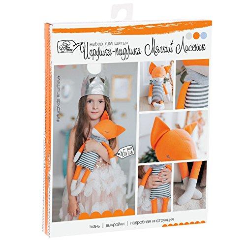 GMMH Kit de Costura muñecas hágalo Usted Mismo (Spittle Mid Fox 45 cm) Altura: 45 cm.