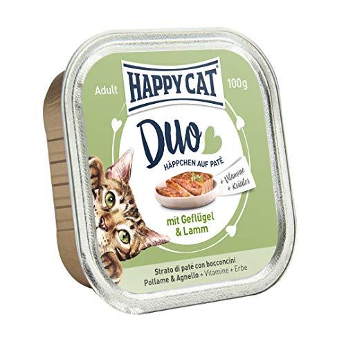 Happy Cat Lot de 12 Paquets de 12 (12 x 100 g)