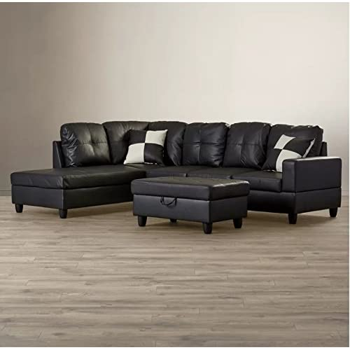 best sneakers a64ac 813e2 Sleeper Sectional Sofa with Chaise: Amazon.com
