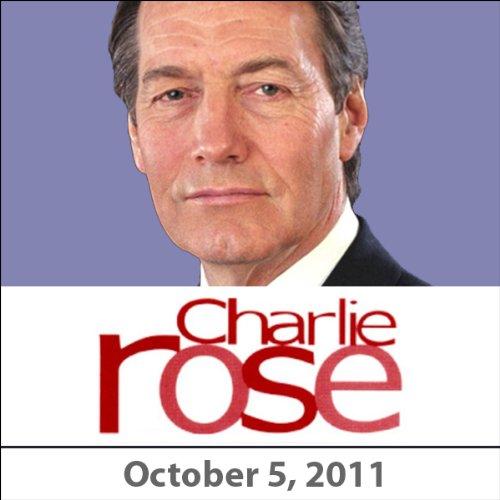 Charlie Rose: Jeffrey Sachs and Dr. Jim Yong Kim, October 5, 2011 audiobook cover art