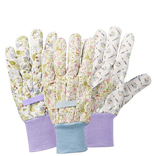 Julie Dodsworth Lavendel Gartenhandschuhe, mehrfarbig, 27,5 x 11 x 0,6 cm by Briers