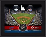 Los Angeles Dodgers 10' x 13' Sublimated Team Stadium Plaque - MLB Team Plaques and Collages