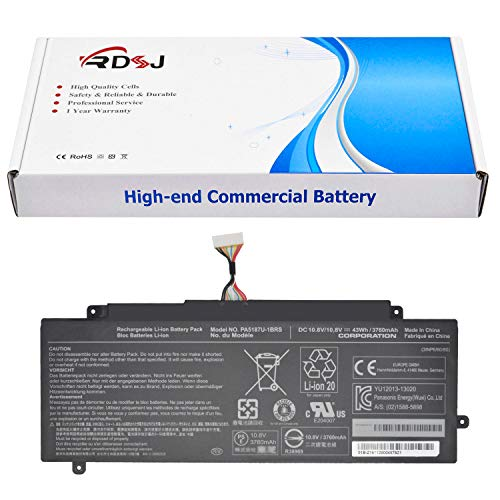 PA5187U-1BRS PA5187U Laptop Battery for Toshiba Satellite Click 2 L35W-B3204 Satellite L35W L35W-B3204 P000602670 P000602680 10.8V 43Wh