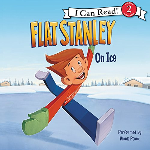 Flat Stanley: On Ice audiobook cover art