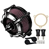 Air Cleaner Intake Turbine Filter For Touring Street Glide road king electra glide road glide Dyna FXDLS Softail Touring Trike FLSTSE FXSBSE 2008 2009 2010 2011 2012 2013 2014 2015 2016-2018