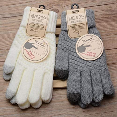 Dames handschoenen voor ZTE Axon 7 Mini Smartphone maat M 2 vinger winter
