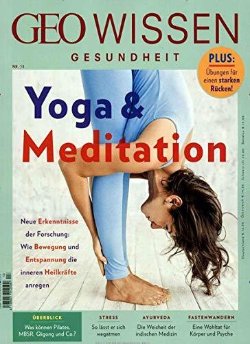 GEO Wissen Gesundheit / GEO Wissen Gesundheit mit DVD 13/20 - Yoga & Meditation: DVD: Health Yoga