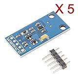 DAOKAI® 5PCS BH1750FVI Digital Light Intensity-Sensor-Modul für Arduino AVR 3V-5V Netz